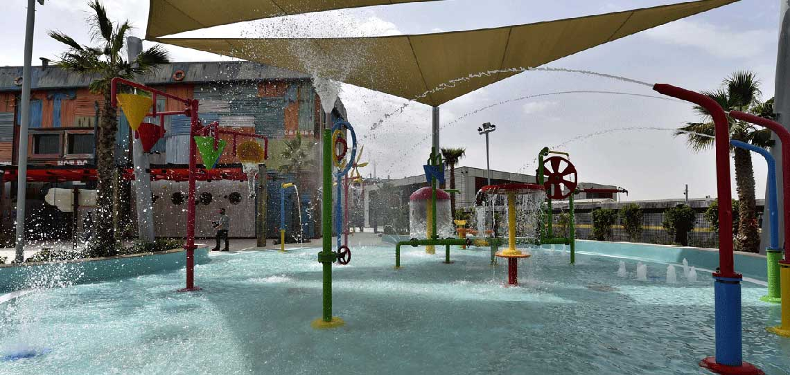 Splash Pad at Laguna Waterpark